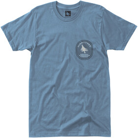 Hippy Tree Geology T-Shirt Men blue